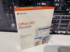 Microsoft Office 365 Personal 1 User, 1 Year for PC or Mac QQ2-00790 Word Excel