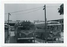 6D499 Rp 1950/60s Osaka Japan Bus Depot