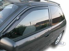 MITSUBISHI COLT 3 door 1992-1996 Front wind deflectors 2pc set TINTED HEKO