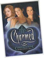 Charmed Conversations - P-UK Promo Card - UK Exclusive - Inkworks 2005