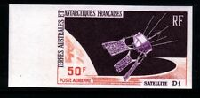 French Southern & Antarctic Territory Sc C11 NH IMPERF. Satellite D-1 1966