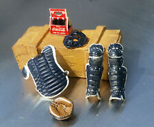 7 Pc Baseball Miniatures Equipment Set 1/24 Scale G Scale Diorama Items
