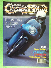 CLASSIC BIKE - June 1990 - 850 MkIII John Player Norton - Ariel NH350 - Triumph