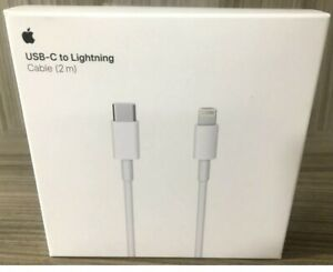 2m Genuine USB-C USB 3.1 Type C to Lightning Cable for Macbook iPhone 12