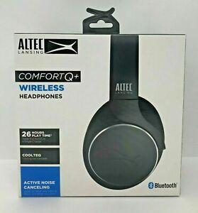 Altec Lansing Comfort Q+ Wireless Active Noise Cancelling Headphones Black