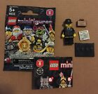 LEGO 8833 Minifigures Series 8 Businessman w/ Wrapper Checklist 2012 New USA!