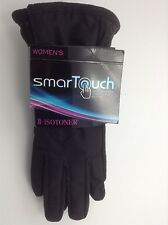 Women's Black Isotoner SmartTouch Gloves - $42 MSRP