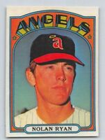 "1972  NOLAN RYAN - Topps ""REPRINT "" Baseball Card # 595 - CALIFORNIA ANGELS"