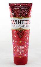 Winter Candy Apple Ultra Shea Cream Bath and Body Works 8oz NEW orange cinnamon