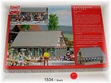 Busch HO 1534 Guest House / PICCOLA Birrificio Kit di costruzione # NUOVO IN #