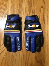 Belong Women's Small Colorado Logo Leather Cycling Gloves Fleece Lined