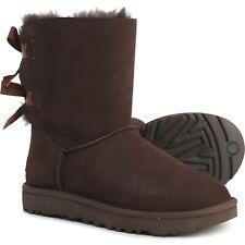 UGG Bailey Bow II Women's Boots (Size 6) Chocolate 1016225