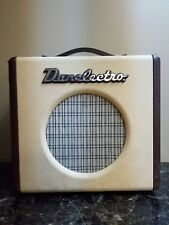 Danelectro Nifty Fifty Guitar Amp Leather Tweed Vintage Look 1997