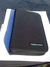 Vintage Case Logic CD DVD bluray storage case - 40 CDs