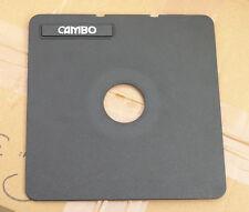 Cambo SC Monorail 10x8 5x4 lens board copal compur  0 ,  34.6mm hole