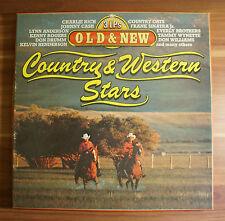 "12"" LP Vinyl Country & Western Stars - Old & New - triple 3LP"