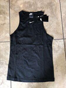 Women's Nike Black Tank Top- size S- CZ9814-010- NWT