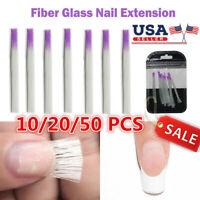 10X Fibernails Fiberglass Acrylic Nail Extension Fibra Manicure Extension Tools