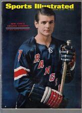 1967 Sports Illustrated Rod Gilbert New York Rangers 1/30/1967 No Label