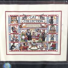 Dimensions Gold Cat Collection Cross Stitch Kit New 35008 Feline