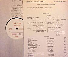 Radio Show: DICK CLARK GOLD #56 AUG '60! EVERLY BROS, DUANE EDDY, FATS DOMINO