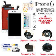 Display Lcd Originale Tianma per Apple iphone 6 Bianco con frame,* schermo Retia