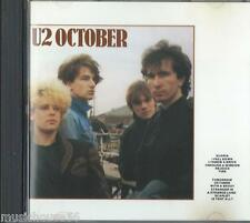 U2 - October - Alt Rock Pop Rock Cd