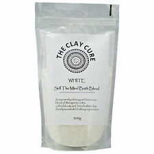 MISCELA da bagno bianco - 500g da Argilla Cura-Sani sali, Avena, bicarbonato & BIANCO CLAY