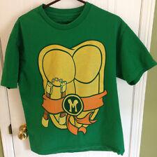TMNT Teenage Mutant Ninja Turtles T-Shirt Michelangelo Large