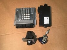 OEM 09 BMW 3 e90 328i Sedan ECU DME Key Ignition Immobilizer Module Set