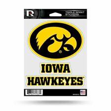 Iowa Hawkeyes window decal 5 SIZES Cornhole Truck CarBumper Wall Edwin Group of Companies Iowa Hawkeyes vinyl sticker 3 x 5 in.