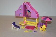 Polly Pocket Splashin Fashion Super Slide Accessory Lot