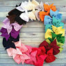 Lot 20Pcs  Hair Bows Boutique Baby Girl Hair Grosgrain Ribbon Alligator Cl UKPL