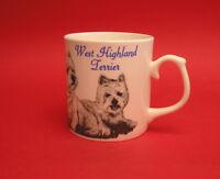 West Highland Terrier Dog Fine Bone China Mug Pet Mum Dad Christmas Gift NEW