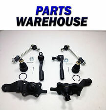 8 Pc Inner Outer Tie Rod Ball Joint Sway Bar Link Sequoia Toyota Tundra