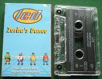 LCD Zorba's Dane World's First Digital Supergroup Cassette Tape Single - TESTED