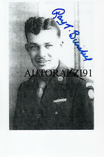 D-Day Ray Burchell 82nd AB, Sicily, Italy, Holland, Battle of the Bulge SIGNED