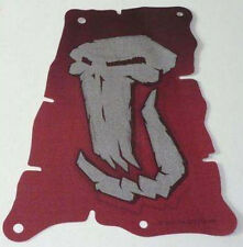 CLOTH SAIL Lego Dark Red 14x20 Tattered w/Fantasy Era Troll Skull Pattern NEW