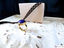 SARA BLAINE Alexandria Ring ~ Lapis and 18K Vermeil  ~ Size 8