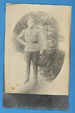 RUSSIA RUSSLAND MILITARY SOLDIER WITH KNUTH VINTAGE PHOTO PC. 680