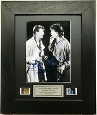 More details for bowie & jagger signed repro dancing in the street filmcell v2