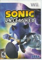 Sonic Unleashed (Nintendo Wii, 2008) - Game Case Only - No Game