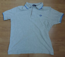 "Fred Perry Pique Polo Camisa Verde Extra Grande XL 44"" H2-B8"