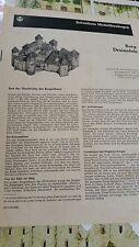 JFS Paper Model Burg Dreienfels