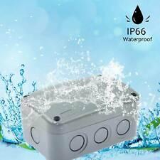 Plastic Electronics Enclosure Project Box Waterproof Junction Box 1258662mm Us
