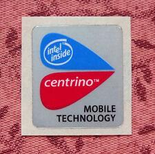 Intel Centrino Mobile Technology Sticker 20 x 22.5mm Case Badge USA Seller