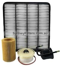 FILTER KIT TOYOTA LANDCRUISER VDJ200 with 4.5L V8 1VD-FTV TURBO DIESEL Z780
