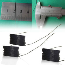 1x UL10064 36AWG 10m 0.28mm Micro Litz Wire Solder High-temperature Black