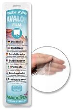 Avalon Film wash-aways Stickfolie wasserl. Madeira 30cm transparent 10m 9440