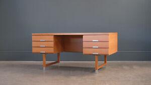 Mid-Century Kai Kristiansen Oak Desk, 1960s, Denmark